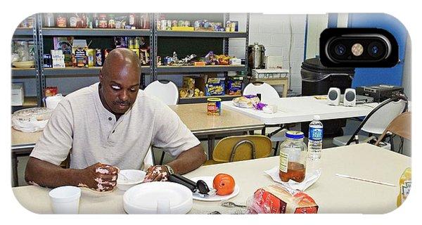 Katrina iPhone Case - Shelter For Hurricane Katrina Survivors by Jim West