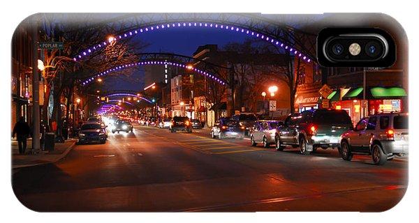 D8l353 Short North Arts District In Columbus Ohio Photo IPhone Case