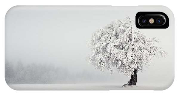 Frost iPhone Case - Silence by Andreas Wonisch