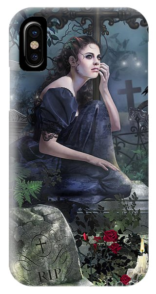 Gloomy iPhone Case - Silent Whispers by MGL Meiklejohn Graphics Licensing
