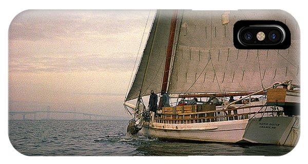 Skipjack iPhone Case - Skipjack by James L. Amos