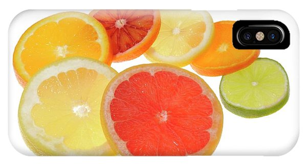 Slices Of Citrus Fruit IPhone Case