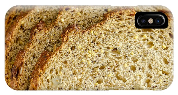 Slices Of Whole Grain Bread IPhone Case