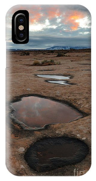 Slickrock In Arches National Park IPhone Case