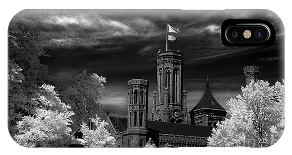 Smithsonian Castle Phone Case by Mike Kurec