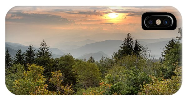 Smokies Sunset IPhone Case