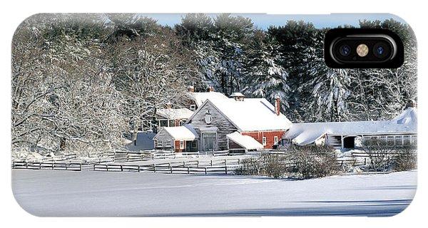 Snow Farm IPhone Case