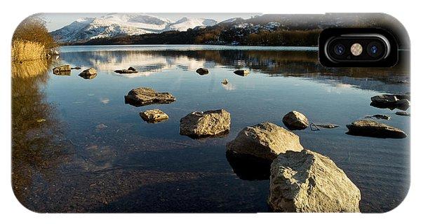 Snowdon And Llyn Padarn IPhone Case