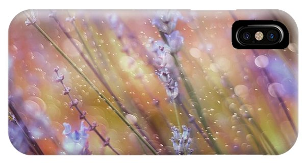 Purple iPhone Case - Something Magical by Delphine Devos