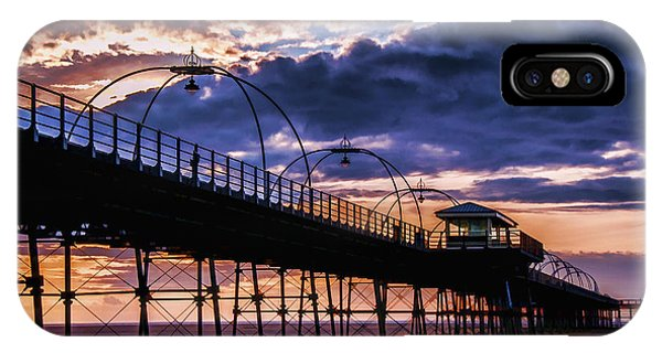 Southport Pier At Sunset IPhone Case
