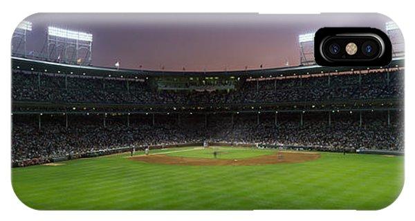 Spectators Watching A Baseball Match IPhone Case