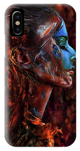 People iPhone Case - Spirit Of The Wood by Ivan Kovalev