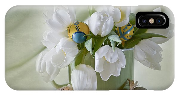 Wiese iPhone Case - Spring Flowers by Steffen Gierok
