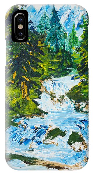 Spring Run-off IPhone Case