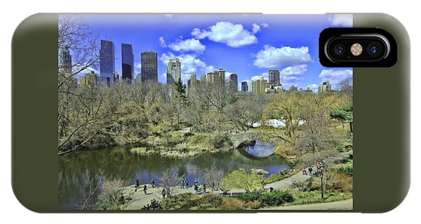 Springtime In Central Park IPhone Case