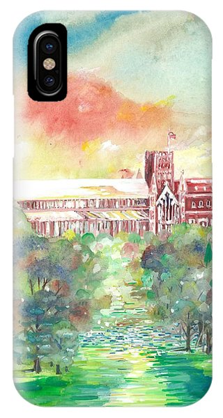 St Albans Abbey - Sunset IPhone Case