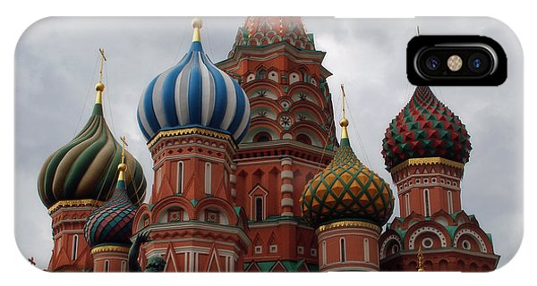 St. Basil's Cathedral IPhone Case
