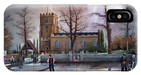 St Marys Church - Kingswinford IPhone Case