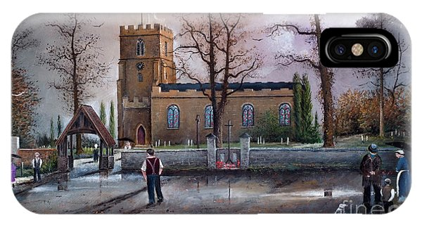 St Marys Church - Kingswinford IPhone Case