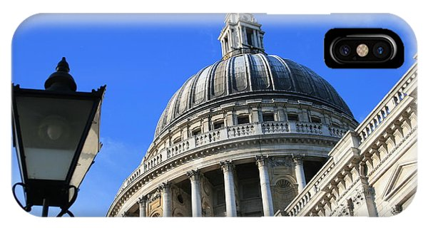 IPhone Case featuring the photograph St Pauls Cathedral by Susan Leonard