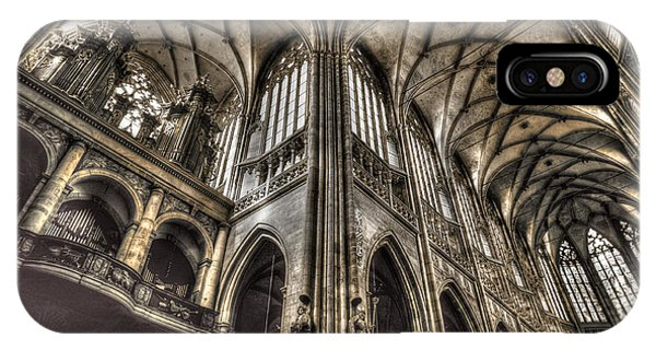 St Vitus Cathedral Prague IPhone Case