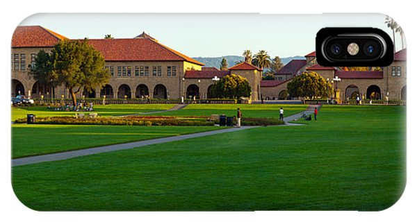 Stanford iPhone Case - Stanford University Campus, Palo Alto by Panoramic Images