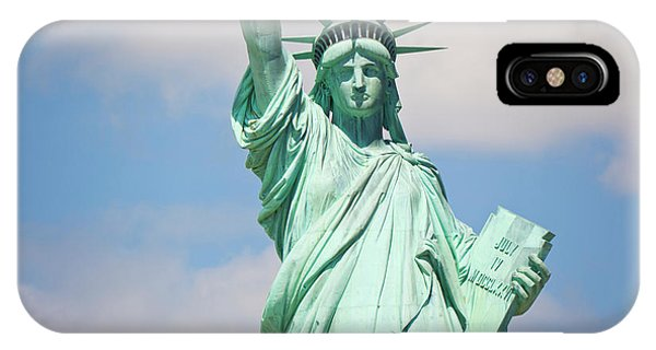 Statue Of Liberty, New York, Usa IPhone Case