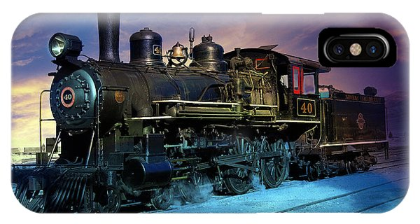 Steam Engine Nevada Northern IPhone Case