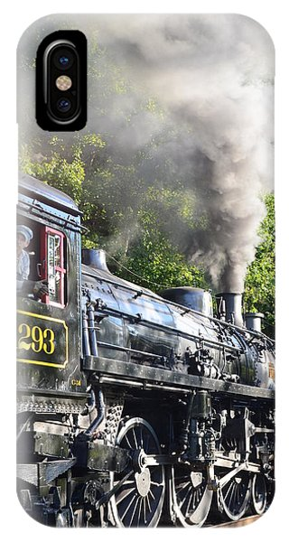 Steam Train Iv IPhone Case