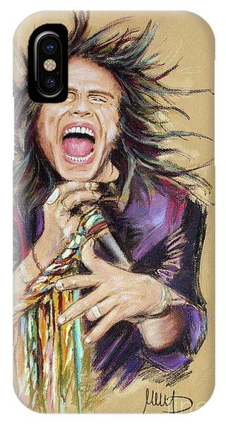 Steven Tyler iPhone Case - Steven Tyler  by Melanie D