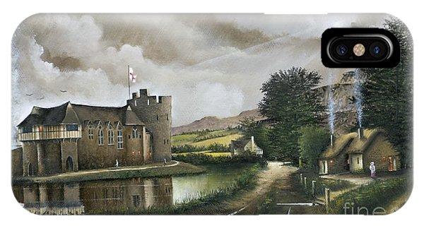 Stokesay Castle IPhone Case