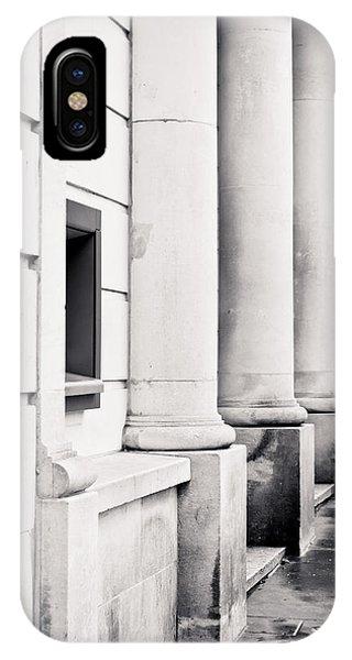 Dispenser iPhone Case - Stone Pillars by Tom Gowanlock