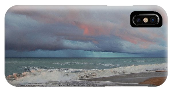 Storms Comin' IPhone Case