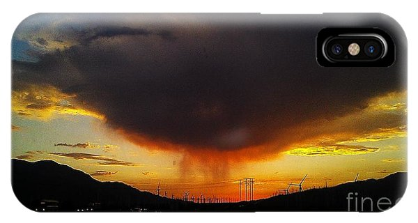 Storms Coming IPhone Case