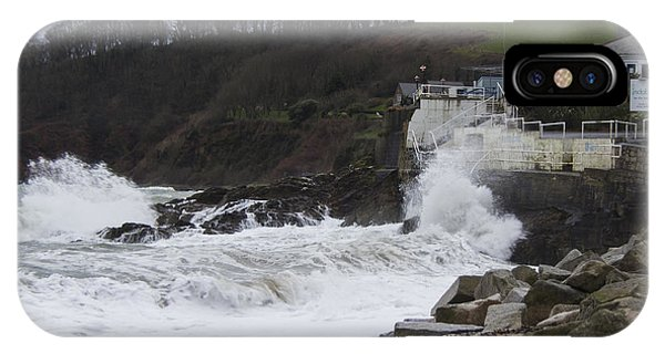 Stormy Falmouth IPhone Case