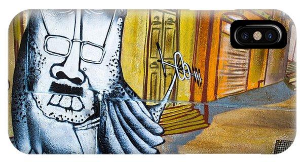 Street Art Valparaiso IPhone Case