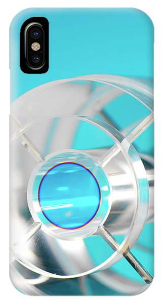 Npl iPhone Case - Strontium Ion Trap by Andrew Brookes, National Physical Laboratory/science Photo Library