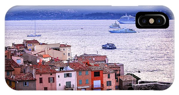 French Riviera iPhone Case - St.tropez At Sunset by Elena Elisseeva