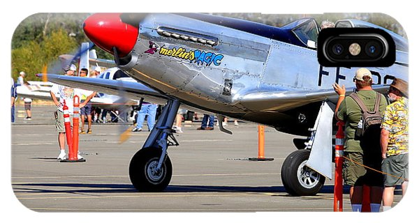 Stu Eberhardt And His P51d Merlin's Magic  Phone Case by John King