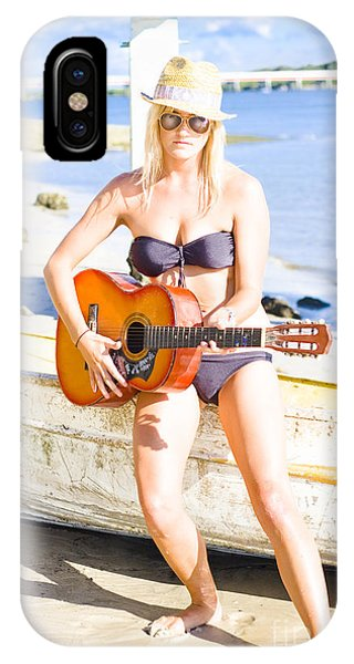 Strum iPhone Case - Summer Fun And Entertainment by Jorgo Photography - Wall Art Gallery