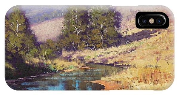 Summer River  Phone Case by Graham Gercken