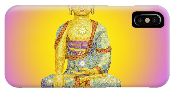 Buddhism iPhone Case - Sun Buddha by Tim Gainey