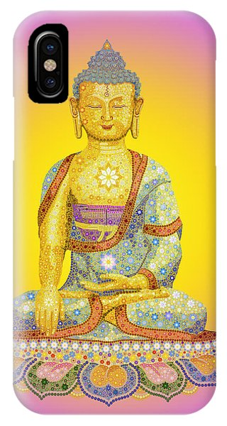 Worship iPhone Case - Sun Buddha by Tim Gainey