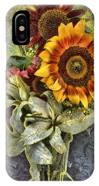 Sunflower Et Al. IPhone Case