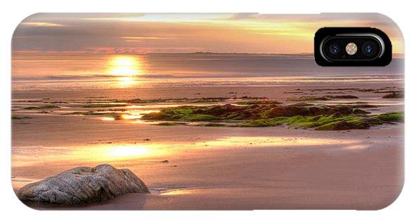 Sunrise At Nairn Beach IPhone Case