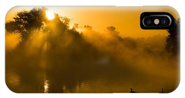 Sunrise At The Sepulveda Dam Wildlife Reserve IPhone Case