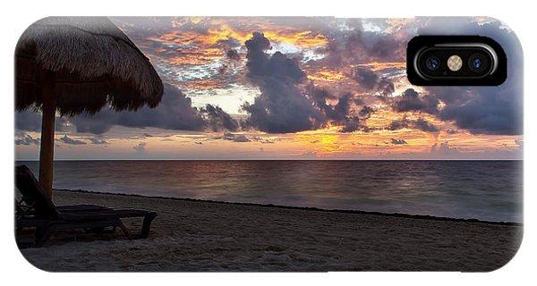 Sunrise In Cancun Mexico IPhone Case