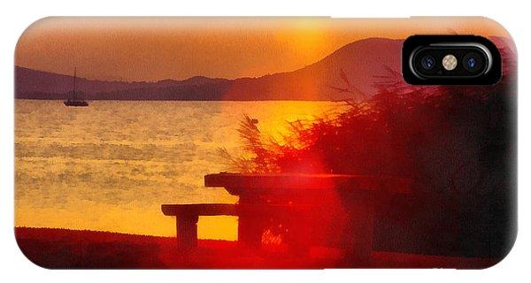 Sunrise In The Balaton Lake IPhone Case