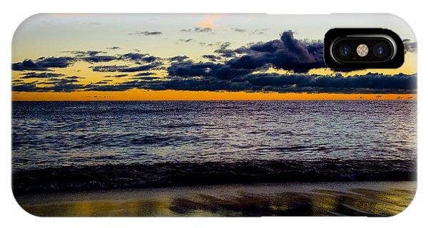 Sunrise Lake Michigan September 14th 2013 001 IPhone Case