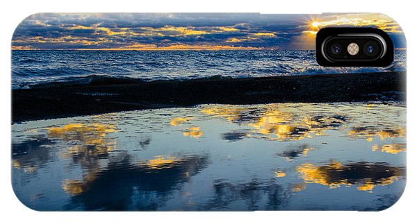 Sunrise Lake Michigan September 14th 2013 006 IPhone Case